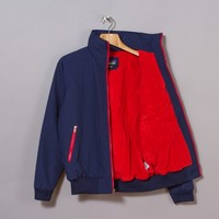 Patagonia Shelled Synchilla Jacket (Classic Navy / Cochineal Red)   Oi Polloi
