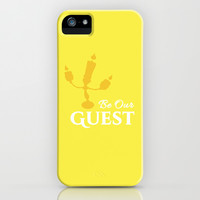BE OUR GUEST  iPhone & iPod Case by Lauren Lee Designs