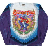 Grateful Dead - Terrapin Moon - Long Sleeve Tie Dye T Shirt