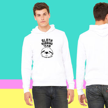 Sloth Running Team sweatshirt hoodie