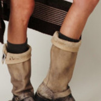 Frye  Stone Wash Slouch Boot at Free People Clothing Boutique