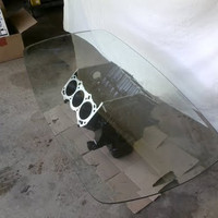 Recycled Engine Coffee Table: GM 3.8L V6 Table