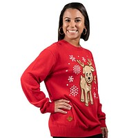 Reindeer Sweater - F19 - Simply Southern