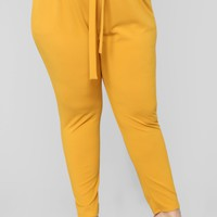 Ride Along Pants - Mustard
