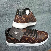 Louis Vuitton LV Monogram Low-Top Sneakers Shoes