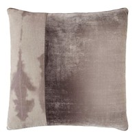 Coyote Velvet Color Block Pillow by Kevin O'Brien Studio
