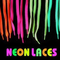 Glow in the Dark Pair of Shoe Laces (Light Blue)