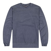 French Terry LS Crew Nk Pullover w/Yoke