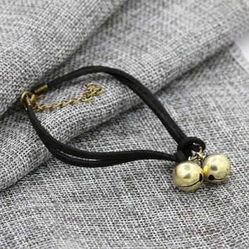 CREYCT9 New Arrival Stylish Sexy Cute Shiny Jewelry Ladies Gift Korean Handcrafts Couple Bracelet Birthday Bells Hot Sale Anklet [10417791060]