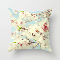 Falling for Spring Throw Pillow by Lisa Argyropoulos   Society6