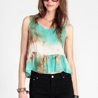 Libby Crop Top By Gypsy Junkies - $59.00 : ThreadSence, Women's Indie & Bohemian Clothing, Dresses, & Accessories
