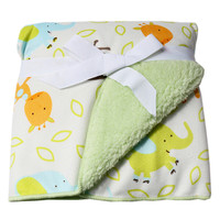 Deer Multifunction Soft Velvet Warm Blanket/Throw for Baby 100x150cm