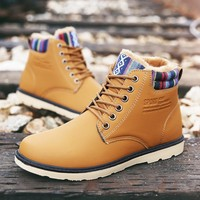 On Sale Hot Deal Men Casual Dr. Martens Korean Fashion Boots [9462346375]