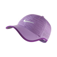 Nike Perforated Adjustable Golf Hat (Purple)