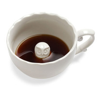 Owls Beau-tea-ful Surprise Mug in Owl by IMM Living from ModCloth