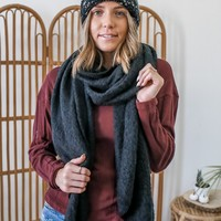 Alpine Scarf - Black