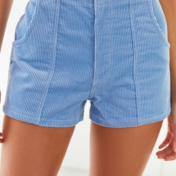 Op For UO High-Rise Corduroy Short   Urban Outfitters