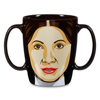 disney store star wars princess leia 20 oz coffee mug new with box