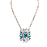 Gift Shiny New Arrival Stylish Jewelry Gemstone Palace Necklace [4918846404]