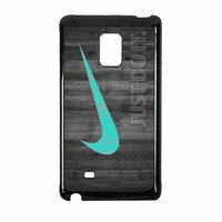 Nike Mint Just Do It Wooden Samsung Galaxy Note Edge Case