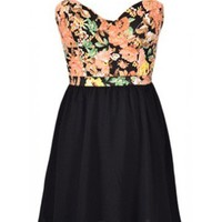 Floral Dress - Kely Clothing