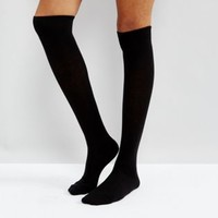 ASOS DESIGN over the knee socks at asos.com
