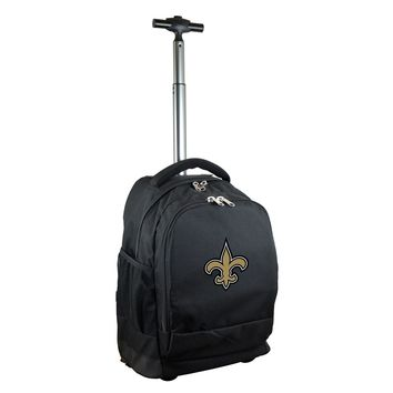 New Orleans Saints Wheeled Premium Backpack