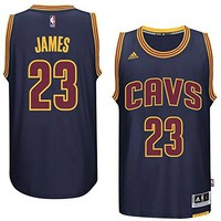 LeBron James Men's Navy Cleveland Cavaliers adidas Swingman Jersey