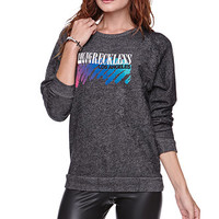 Young and Reckless Bamf Crew Fleece at PacSun.com