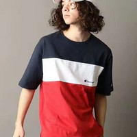 DCCK Champion reserve T-shirt with matching color and loose lover style