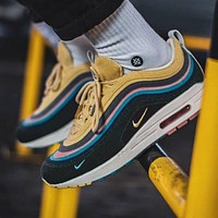 Nike Air Max 97 platform low-top sports running shoes
