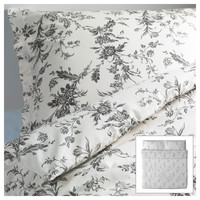 ALVINE KVIST Duvet cover and pillowcase(s) - King  - IKEA