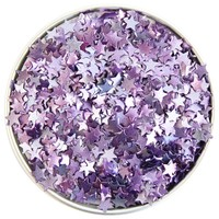 Purple Star Edible Glitter
