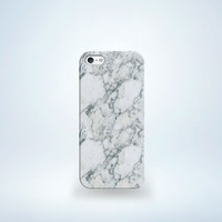 Marble I Phone 5 Cellphone Case (Small/Indie Brands)