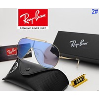 RayBan Ray-Ban Summer Hot Sale Woman Popular Shades Eyeglasses Glasses Sunglasses 2#