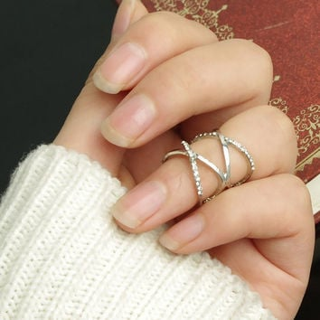 2015 New Fashion Women Girl Accessories Necklace Alloy Necklace Finger Ring Toe RIng = 1705115396