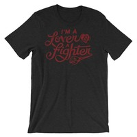Lover and A Fighter Graphic T-Shirt