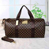 LV Louis Vuitton Hot Sale Large Capacity Travel Bag One Shoulder Messenger Bag Classic Men and Women Zipper Hand Luggage Bag