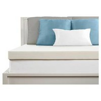 "Comfort Revolution 3"" Memory Foam Topper - White"