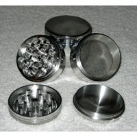 "Four Piece NEW STYLE 2 1/4"" Herb, Spice or Tobacco Pollen Grinder"