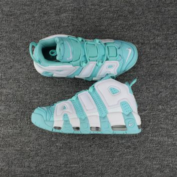 Nike Air More Uptempo Mint 415082-300 Size 36-40