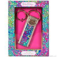 Lilly Pulitzer Key Fob in Lilly's Lagoon