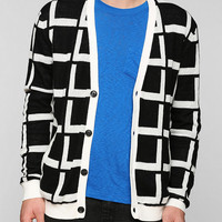 Your Neighbors Checker Cardigan - Urban Outfitters