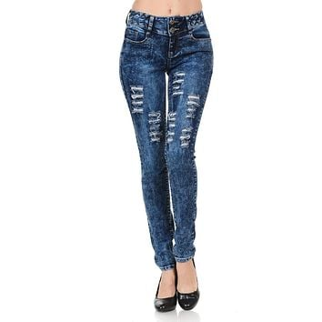 M.Michel Women's Jeans Colombian Design, Butt Lift, Levanta Cola, Push Up - Skinny - Style S6107R