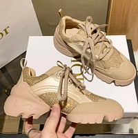 Dior (diamond inlay) D-CONNECT SNEAKER