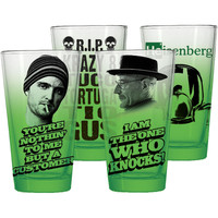 Breaking Bad Pub Glass Set