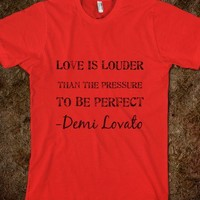 Love Is Louder Demi Lovato - Music Is What I Live For