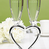 Personalized Heart-to-Heart Flute Set - David's Bridal- mobile