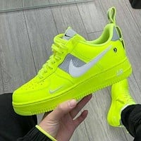 NIKE air force 1 Fashion low-top shoes casual sneakers available for men and women