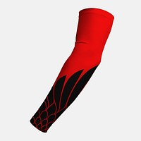 Icarus Red Black Arm Sleeve